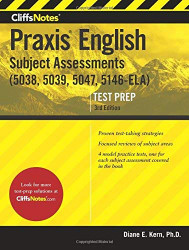 CliffsNotes Praxis English Subject Assessments