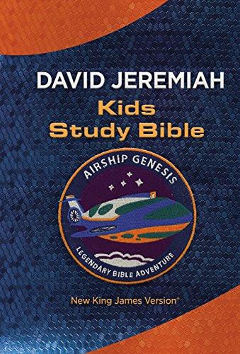 NKJV: Airship Genesis Kids Study Bible: TechTile Leather Edition