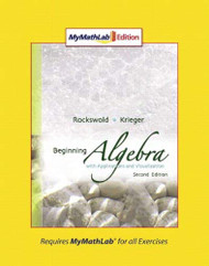 Beginning Algebra With Applications And Visualization Ition