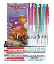 Choose Your Own Adventure 7-12 Box Set 2 (Race Forever & more)