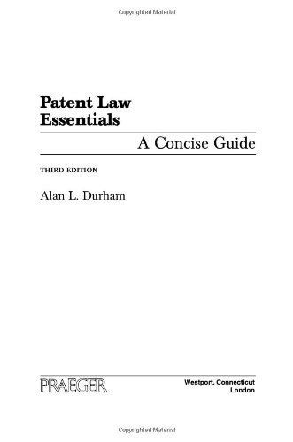Patent Law Essentials