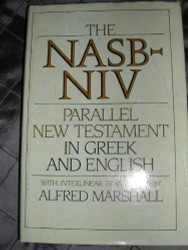 Nasb-Niv Parallel New Testament In Greek And English