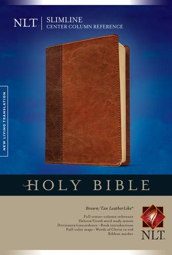 Slimline Center Column Reference Bible NLT TuTone
