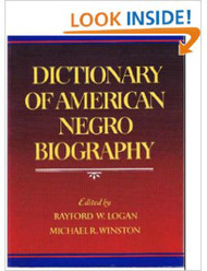 Dictionary Of American Negro Biography