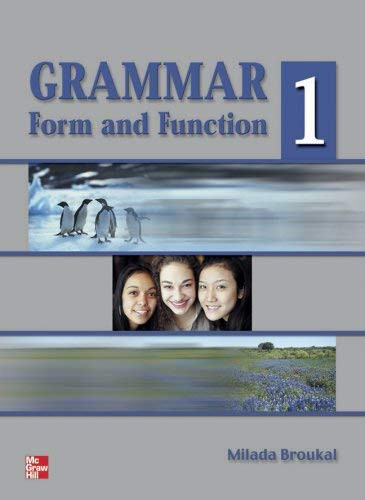 Grammar Form And Function Level 1