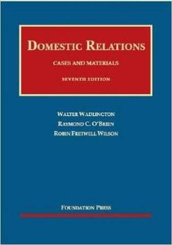 Domestic Relations
