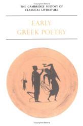 Cambridge History Of Classical Literature Volume 1