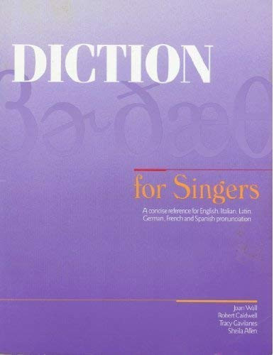 Diction For Singers