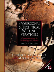 Professional And Technical Writing Strategies
