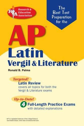 Ap Latin Vergil And Literature Exams