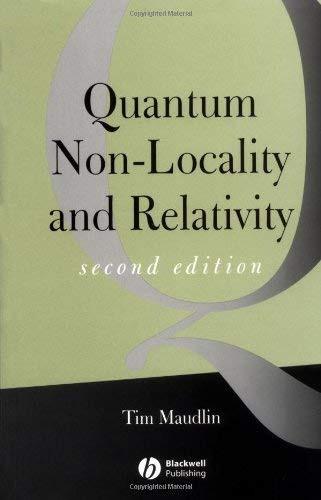 Quantum Non-Locality And Relativity