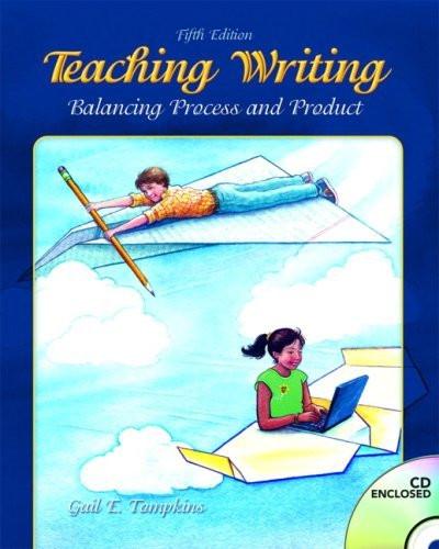 Teaching Writing By Gail E Tompkins Isbn 9780132484817 ...
