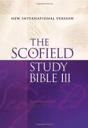 Scofield Study Bible III Niv