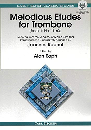 O1594X - Melodious Etudes For Trombone - Book 1