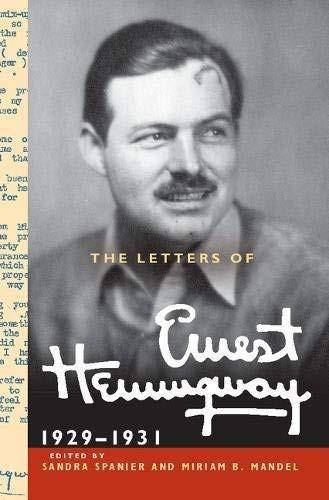Letters Of Ernest Hemingway : Volume 4, 1929-1931