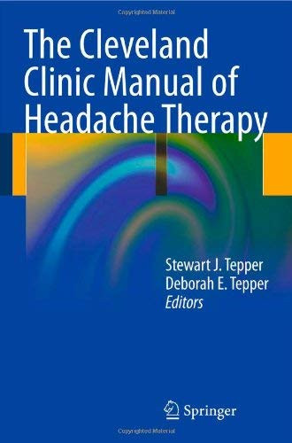 Cleveland Clinic Manual Of Headache Therapy