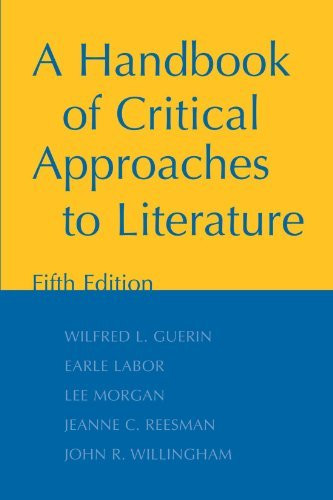 Handbook Of Critical Approaches To Literature