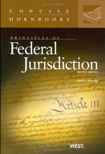 Principles Of Federal Jurisdiction