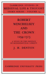 Robert Winchelsey And The Crown 1294-1313