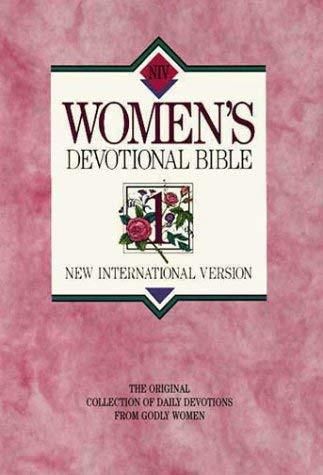 New International Version Women's Devotional Bible Large Print Pink