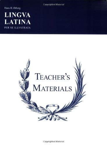 Lingua Latina Per Se Illustrata