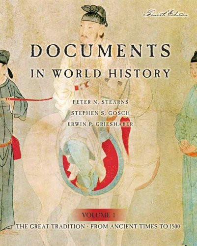 Documents In World History Volume 1