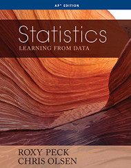 Statistics Learning from Data  by Roxy Peck