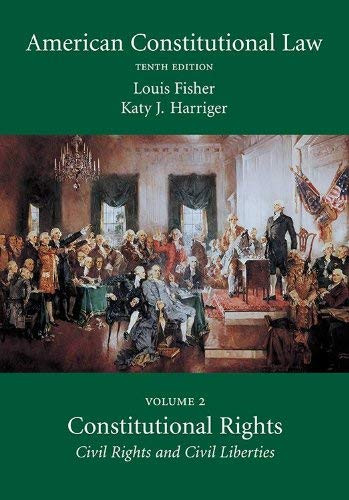 American Constitutional Law Volume 2