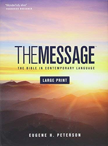 Message Large Print Numbered Edition