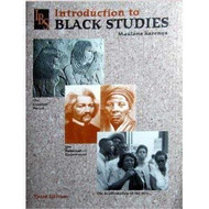 Introduction To Black Studies By Karenga Maulana Published By Univ Of Sankore Pr
