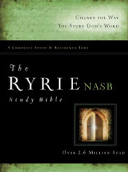 Ryrie Nas Study Bible Hardback Red Letter