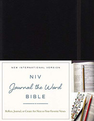 NIV Journal the Word Bible Black