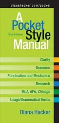 A Pocket Style Manual by Diana Hacker