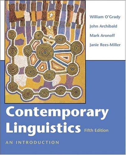 Contemporary Linguistics