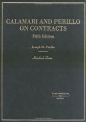 Calamari And Perillo On Contracts