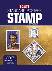 Scott 2017 Standard Postage Stamp Catalogue Volume 4 J-M Countries of the