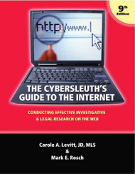 Cybersleuth's Guide To The Internet