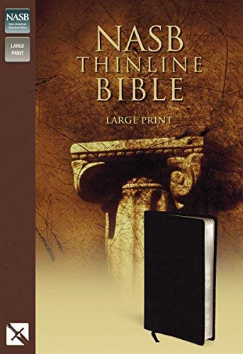 Nasb Thinline Bible Large Print