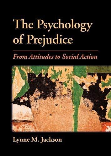 Psychology Of Prejudice