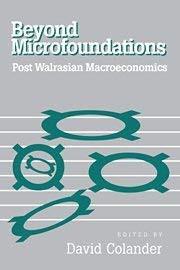 Beyond Microfoundations