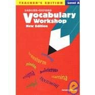 Vocabulary Workshop Level A Teacher's Edition
