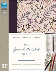 NIV Journal the Word Bible Cloth over Board Pink Floral