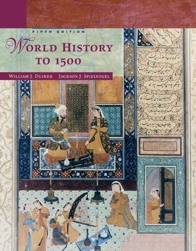 World History To 1500