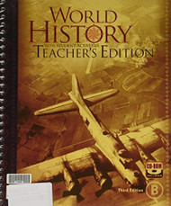 World History Teacher's Edition - A and B Book
