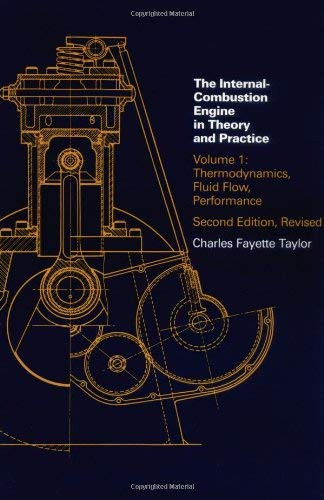 Internal Combustion Engine In Theory And Practice Volume 1