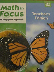 Math In Focus The Singapore Approach Grade 3A Teacher's Edition