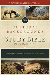 NIV Cultural Backgrounds Study Bible Personal Size Red Letter Edition