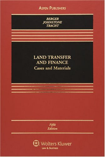 Land Transfer And Finance