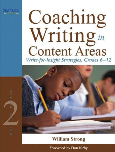Coaching Writing In Content Areas Grades 6-12