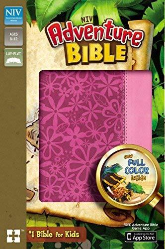 NIV Adventure Bible Imitation Leather Pink Full Color